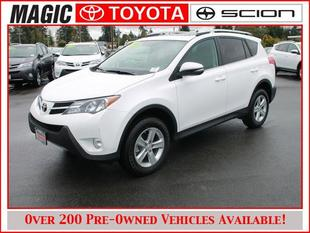 2014 Toyota RAV4 SUV for sale in Edmonds for $25,995 with 6,956 miles.