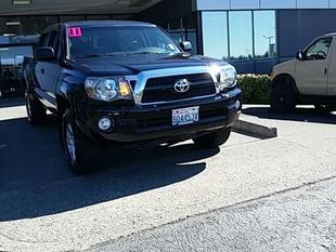 2011 Toyota Tacoma Double Cab Crew Cab Pickup for sale in Vancouver for $31,993 with 22,857 miles.
