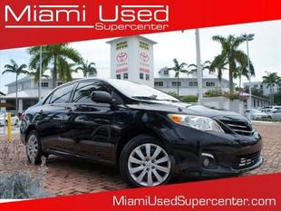 2013 Toyota Corolla LE Sedan for sale in Miami for $12,000 with 50,318 miles.