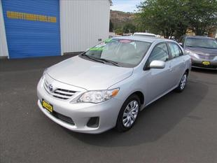 2013 Toyota Corolla LE Sedan for sale in The Dalles for $13,994 with 35,652 miles.