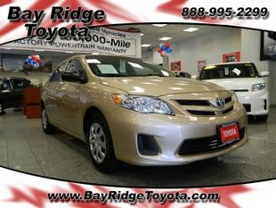 2011 Toyota Corolla Base Sedan for sale in Brooklyn for $14,000 with 16,765 miles.