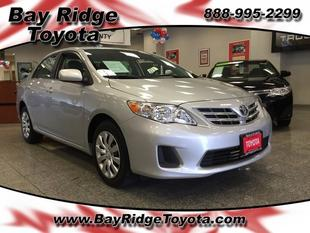 2013 Toyota Corolla LE Sedan for sale in Brooklyn for $16,199 with 3,741 miles.