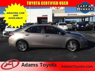 2014 Toyota Corolla LE Plus Sedan for sale in Lees Summit for $16,995 with 14,762 miles.