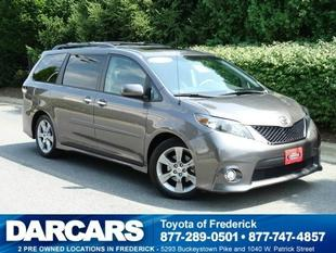 2013 Toyota Sienna Minivan for sale in Frederick for $28,488 with 16,446 miles.
