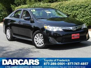 2013 Toyota Camry Sedan for sale in Frederick for $18,988 with 11,134 miles.