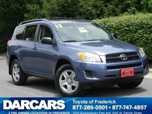 2012 Toyota RAV4 Base SUV for sale in Frederick for $18,988 with 46,346 miles.