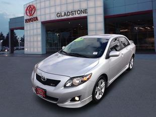 2010 Toyota Corolla XRS Sedan for sale in Gladstone for $17,991 with 32,697 miles.