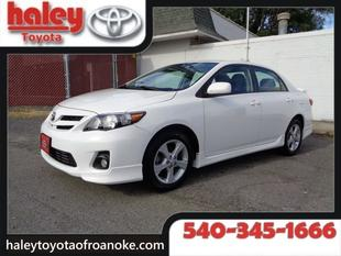 2013 Toyota Corolla Sedan for sale in Roanoke for $16,881 with 30,662 miles.