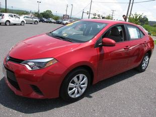 2014 Toyota Corolla Sedan for sale in Staunton for $17,600 with 16,679 miles.