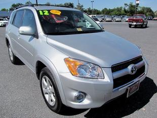 2012 Toyota RAV4 Limited SUV for sale in Staunton for $26,800 with 9,171 miles.