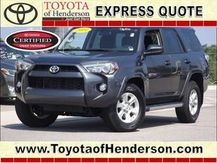 2014 Toyota 4Runner SUV for sale in Henderson for $31,985 with 7,125 miles.