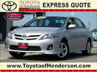 2011 Toyota Corolla S Sedan for sale in Henderson for $16,581 with 15,146 miles.
