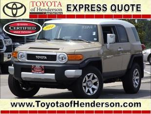 2014 Toyota FJ Cruiser Base SUV for sale in Henderson for $30,985 with 14,611 miles.