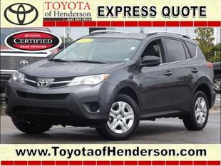 2013 Toyota RAV4 SUV for sale in Henderson for $22,983 with 19,911 miles.