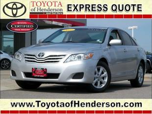 2011 Toyota Camry LE Sedan for sale in Henderson for $15,981 with 54,364 miles.