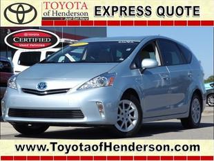 2012 Toyota Prius V Three Wagon for sale in Henderson for $24,981 with 8,865 miles.
