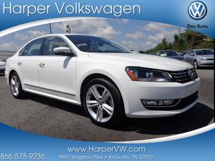 2013 Volkswagen Passat Sedan for sale in Knoxville for $26,900 with 9,218 miles.