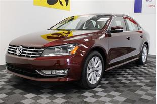 2013 Volkswagen Passat Sedan for sale in Iowa City for $23,442 with 21,336 miles.