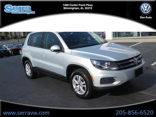 2013 Volkswagen Tiguan S SUV for sale in Birmingham for $17,910 with 31,737 miles.