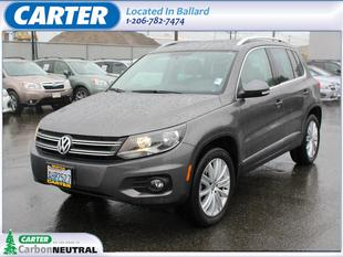2012 Volkswagen Tiguan SE SUV for sale in Seattle for $20,888 with 21,012 miles.