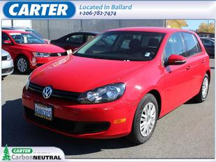 2012 Volkswagen Golf Hatchback for sale in Seattle for $15,888 with 34,037 miles.