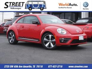 2013 Volkswagen Beetle Hatchback for sale in Amarillo for $23,995 with 8,405 miles.