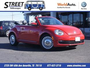 2013 Volkswagen Beetle Convertible for sale in Amarillo for $22,995 with 18,106 miles.