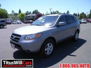 2008 Hyundai Santa Fe GLS SUV for sale in Olympia for $17,990 with 35,950 miles.