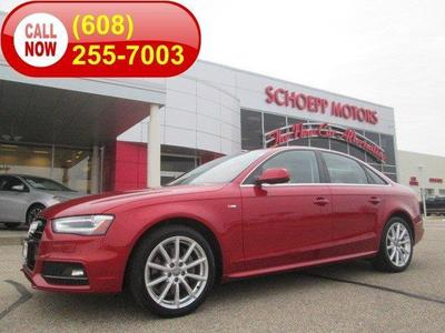 New and used audi a4 in madison wi for Schoepp motors middleton wi