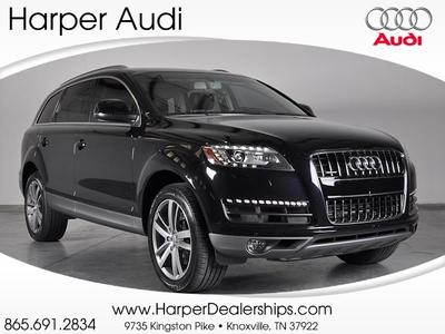 2013 Audi Q7 SUV for sale in Knoxville for $51,900 with 20,074 miles.