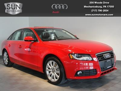 2010 Audi A4 2.0T Premium Sedan for sale in Mechanicsburg for $25,999 with 34,451 miles.
