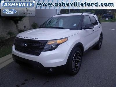 2013 Ford Explorer Sport SUV for sale in Asheville for $40,988 with 17,132 miles.