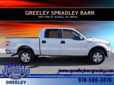 2013 Ford F150 XLT Crew Cab Pickup for sale in Greeley for $33,500 with 25,670 miles.