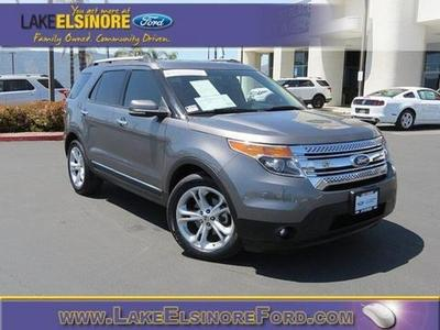 2011 Ford Explorer Limited SUV for sale in Lake Elsinore for $29,410 with 58,070 miles.