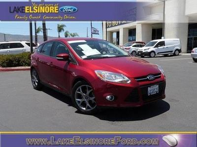 2013 Ford Focus SE Hatchback for sale in Lake Elsinore for $16,674 with 33,267 miles.