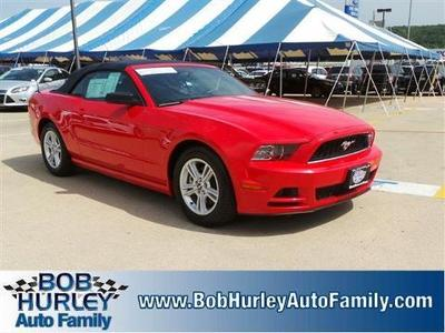 2014 Ford Mustang V6 Convertible for sale in Tulsa for $22,999 with 38,348 miles.