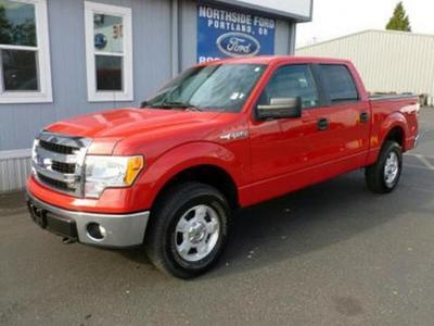 2013 Ford F150 XLT Crew Cab Pickup for sale in Portland for $32,000 with 12,378 miles.