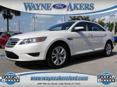 2012 Ford Taurus SEL Sedan for sale in Lake Worth for $19,994 with 7,860 miles.