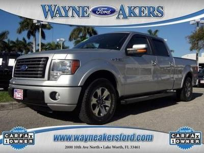 2010 Ford F150 Crew Cab Pickup for sale in Lake Worth for $23,991 with 40,460 miles.