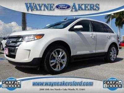 2012 Ford Edge Limited SUV for sale in Lake Worth for $29,993 with 19,330 miles.
