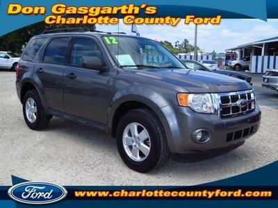 2012 Ford Escape XLT SUV for sale in Port Charlotte for $19,900 with 16,872 miles.