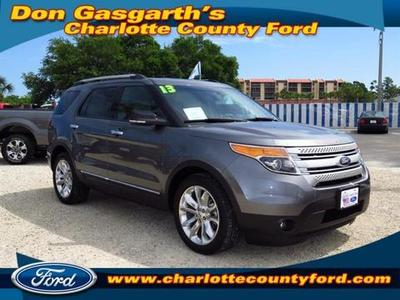 2013 Ford Explorer XLT SUV for sale in Port Charlotte for $36,900 with 7,226 miles.