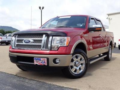 2012 Ford F150 Lariat Crew Cab Pickup for sale in Chattanooga for $32,977 with 57,660 miles.