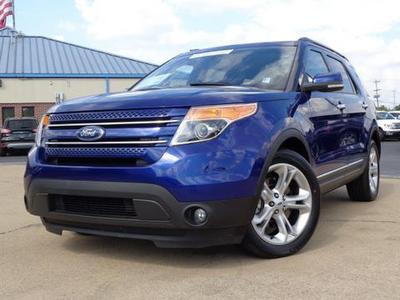 2014 Ford Explorer Limited SUV for sale in Chattanooga for $32,752 with 26,294 miles.