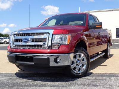 2013 Ford F150 XLT Extended Cab Pickup for sale in Chattanooga for $26,976 with 11,184 miles.
