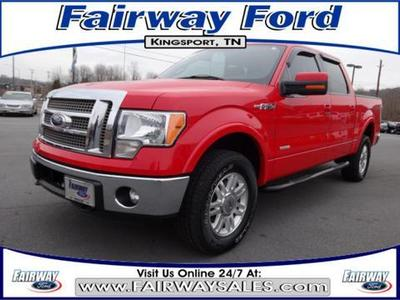 2012 Ford F150 Lariat Crew Cab Pickup for sale in Kingsport for $35,900 with 39,762 miles.