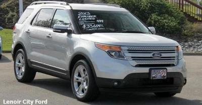 2013 Ford Explorer Limited SUV for sale in Lenoir City for $33,604 with 39,808 miles.