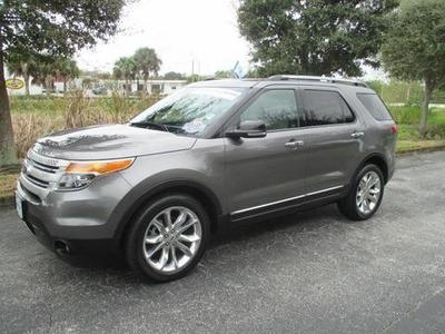 2012 Ford Explorer XLT SUV for sale in Vero Beach for $31,989 with 37,609 miles.
