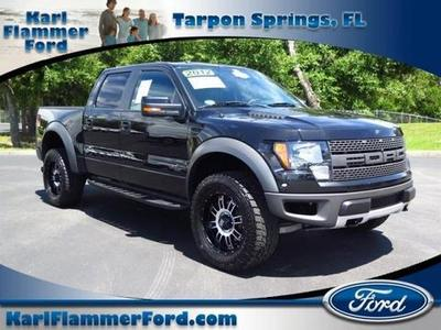 2012 Ford F150 SVT Raptor Crew Cab Pickup for sale in Tarpon Springs for $47,763 with 44,413 miles.