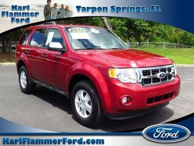 2012 Ford Escape XLT SUV for sale in Tarpon Springs for $17,680 with 18,594 miles.